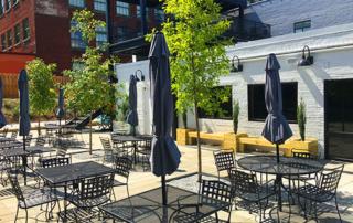 Atlanta Production Properties Cafe and Velo Patio
